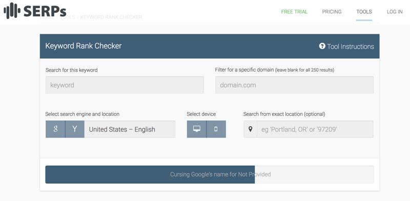 SERPs Keyword rank checker - 5 Sitios web para comprobar los rankings de tus Keywords en Google