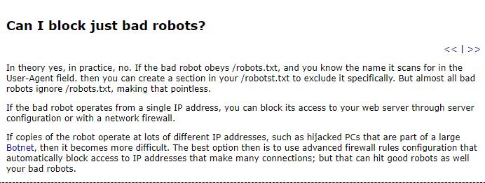 bad robots - Cómo crear un archivo ideal de WordPress Robots.txt para SEO