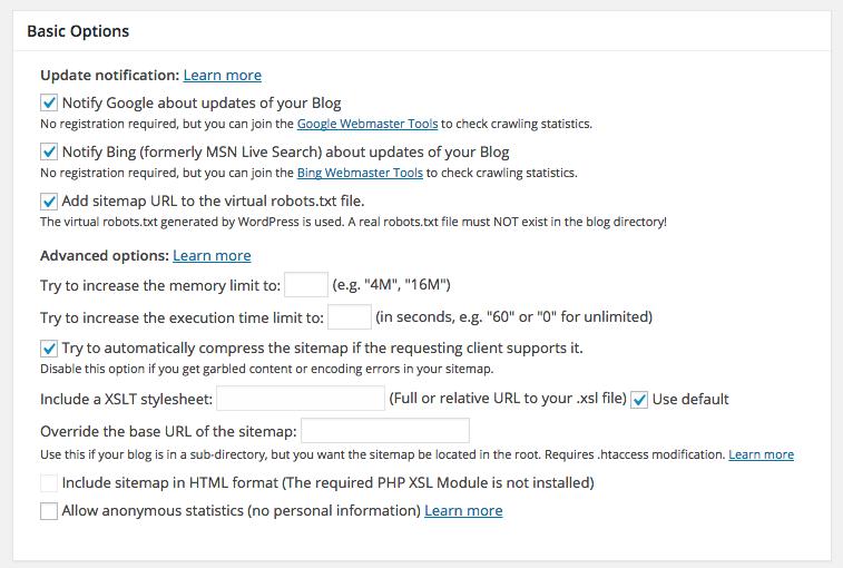 basics - Google XML Sitemaps vs Yoast SEO, ¿Que Sitemap es mejor?