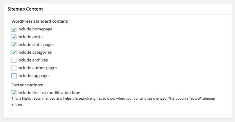 content - Google XML Sitemaps vs Yoast SEO, ¿Que Sitemap es mejor?