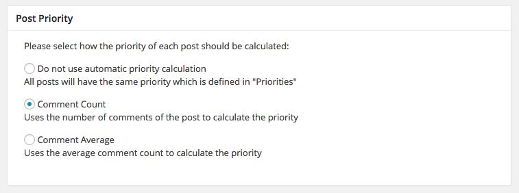 piority - Google XML Sitemaps vs Yoast SEO, ¿Que Sitemap es mejor?