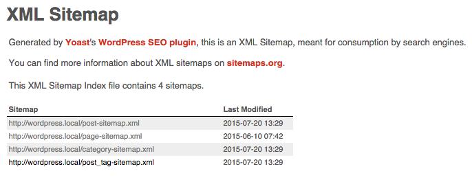 yoast sitemap - Google XML Sitemaps vs Yoast SEO, ¿Que Sitemap es mejor?