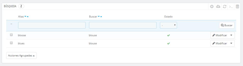 prestashop buscar alias 1024x279 - 4 Errores comunes que los usuarios de Prestashop suelen hacer